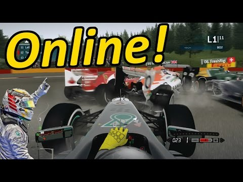 F1 - F1 2013 Gameplay: Online Multiplayer Races Italiand Grand Prix & Belgian Grand Prix 25% Races Follow me on Twitter - https://twitter.com/Tiametmarduk Facebook - https://www.facebook.com/Tiametmar...