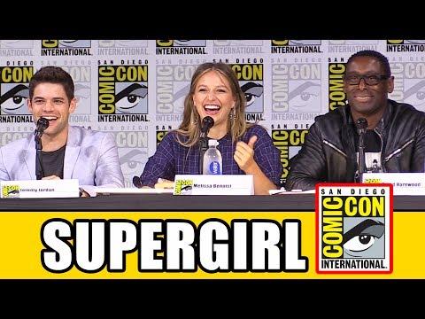 Supergirl Comic Con 2017 Panel