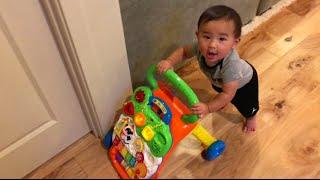 Video BEST INFANT TO TODDLER TOY! SIT TO STAND WALKER UPDATE! MP3, 3GP, MP4, WEBM, AVI, FLV Juni 2019
