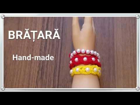 Video Bratara handmade. Croșetam. download in MP3, 3GP, MP4, WEBM, AVI, FLV January 2017
