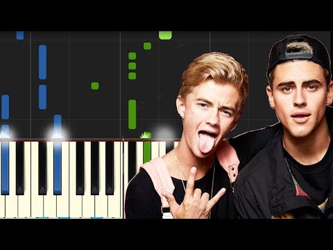 "Jonas Blue Ft Jack Jack - ""Rise"" Piano Tutorial - Chords - How To Play - Cover"