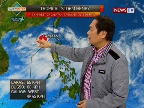BT Weather update as of 1151 a.m. July 17, 2018