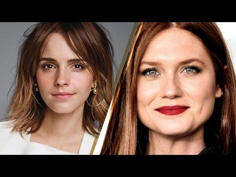 Emma Watson & Bonnie Wright Have a SURPRISE 'Harry Potter' Reunion! (видео)