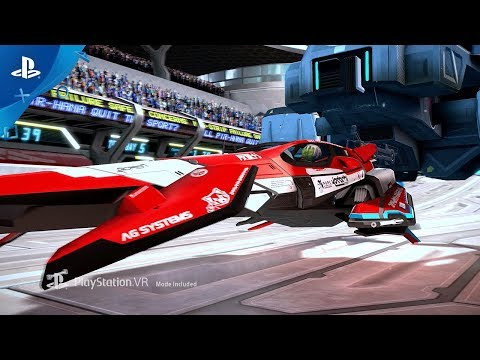 Trailer WipEout VR de WipEout Omega Collection
