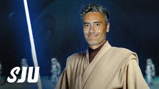 Taika Waititi Talking w/ Disney About Doing a Star Wars! | SJU by Clevver Movies
