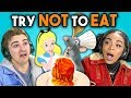 Download Lagu TRY NOT TO EAT CHALLENGE! #2 | Teens & College Kids Vs. Food Mp3 Free