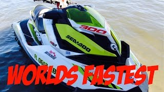 8. Hyabusa on the water! INSANE SEA-DOO RXP-X 400 HORSEPOWER!!