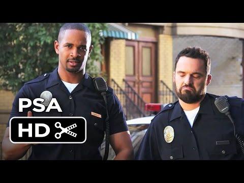 Let's Be Cops PSA - Rap Lyrics (2014) - Jake Johnson, Damon Wayans Jr. Movie HD