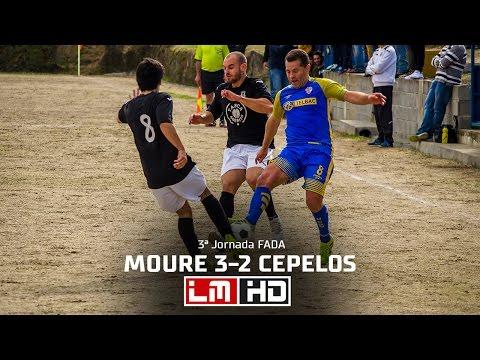 Moure 3-2 Cepelos - FADA 1ª Div 16/17 - LM HD (видео)