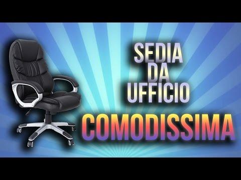 Sedia da Ufficio COMODISSIMA!! - RECENSIONE E MONTAGGIO