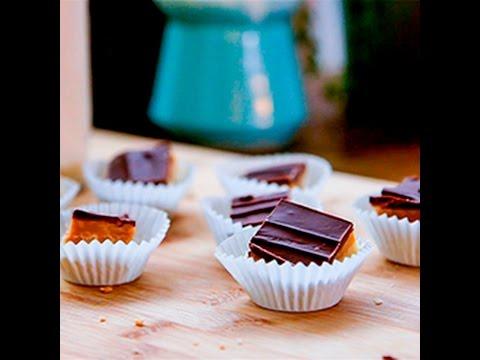 dolcetti al caramello e cioccolato - la videoricetta