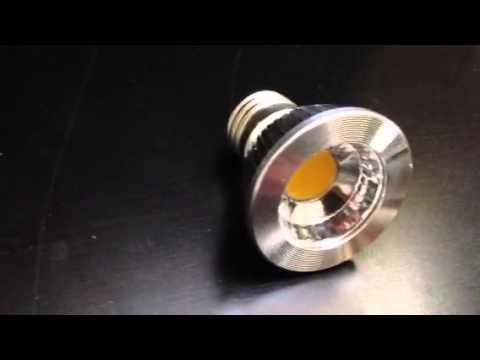 Green 711 - LED COB bulbs PAR 16 Dimmable - Warm White