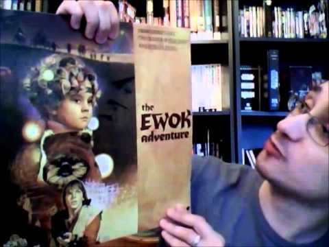 From the Star Wars Home Video Library #24.1: Ewoks Telemovies on Laserdisc