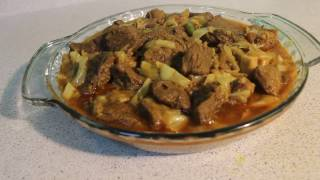 Beef Cabbage Curry