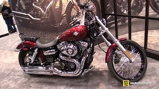 7. 2015 Harley-Davidson Dyna Wide Glide - Walkaround - 2014 New York Motorcycle Show