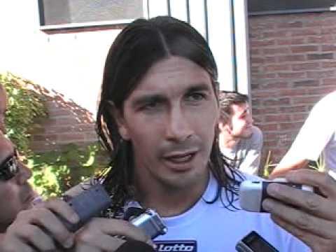 Juan José Morales, autor dle gol del empate ante Independiente