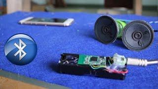Como hacer un receptor de música Bluetooth