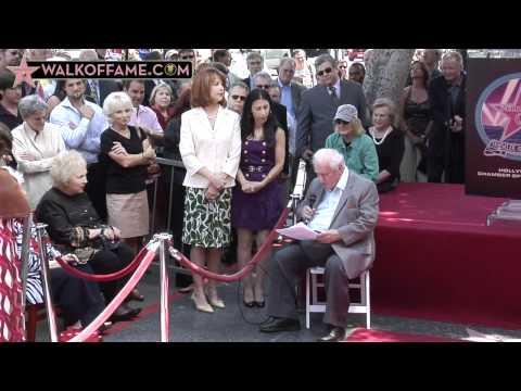 Charles Durning Walk of Fame Ceremony