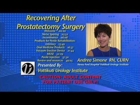Recovering After Prostatectomy Surgery