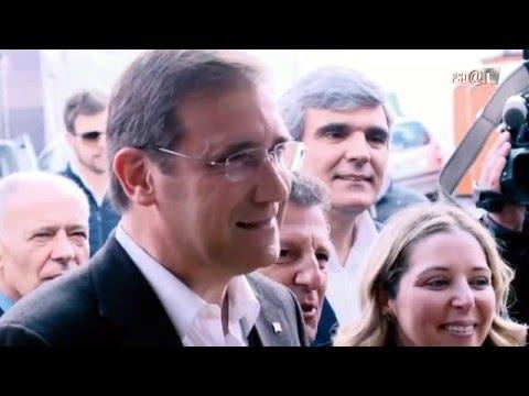 Pedro Passos Coelho visita a Feira do Folar