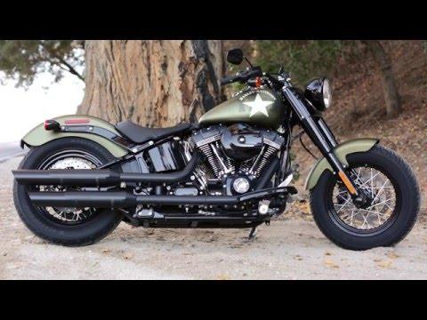 2016 Harley-Davidson Softail Slim S Review