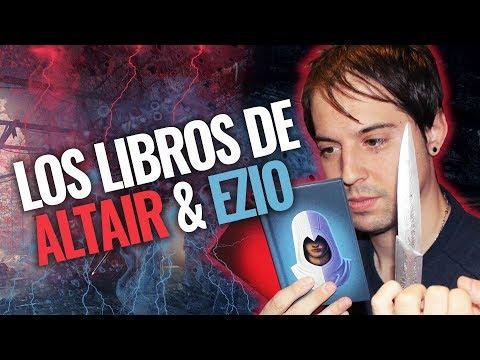 Los libros de Colección de Altaïr & Ezio Auditore Collecti books | Review Analisis Assassin's Creed