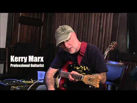 Kerry Marx on Mosrite Guitar