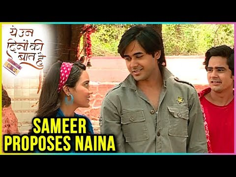 Sameer Finally PROPOSES To Naina In College | Yeh