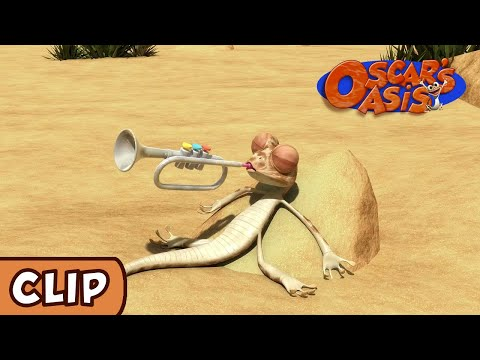 Oscar's Oasis- The Sound of the Trumpet | HQ | Funny Cartoons