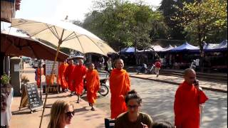 Video Luang Prabang - Laos City Tour Part 2 with Tourguide Viengvilay Phimmasone MP3, 3GP, MP4, WEBM, AVI, FLV Juli 2018
