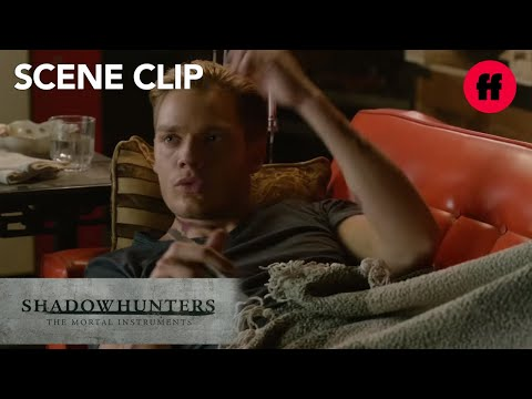 Shadowhunters | Season 1, Episode 11: Jace & Clary Kiss | Freeform