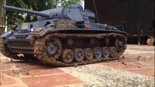World Of Tanks Panzer III Ausf. L 1/16 Rc Tank Henglong
