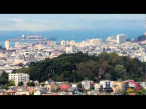 TimeLapse TiltShift Film of San Francisco