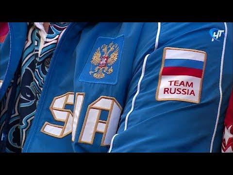 Именитые российские спортсмены наведались в гости к ученикам четвертой гимназии