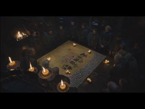 Bran reveals the Night King's motive. Finally! Battle for Winterfell war council
