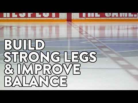 Off Ice Hockey Training: Build strong legs and improve balance.