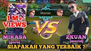 Video Perbedaan Gameplay Fanny MIKASA dan ZXUAN - GURU VS MURID_Duel Skylark | Mobile Legends MP3, 3GP, MP4, WEBM, AVI, FLV September 2018
