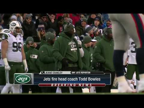 """Video: Todd Bowles on being fired by New York Jets: """"I'm at peace with it"""""""