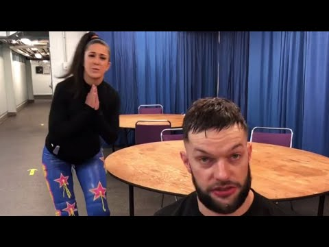 Bayley strives to get Finn Bálor's attention en route to Mixed Match Challenge: Exclusive: Dec. 17