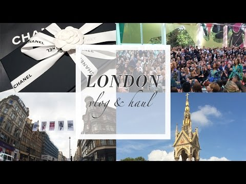 TRAVEL: London Vlog + Haul [Burberry, SUQQU, Chanel and more]