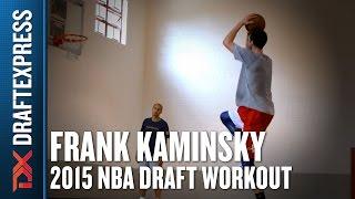 Frank Kaminsky - Pre-Draft Workout & Interview - DraftExpress