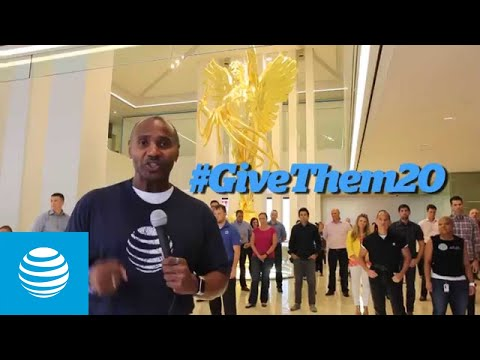 AT&T Supports Our Veterans with #GiveThem20