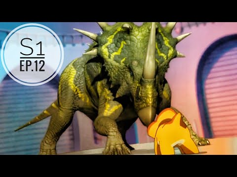 Dinosaur King(hindi) Ep.12 | Season 1| Alpha's Zeta Point |Dino Cards|
