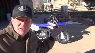 8. 2016 Yamaha TTR50E - Walk around and First Start
