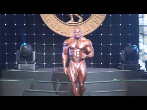 Тони Фримен - Arnold Classic 2009 Posing