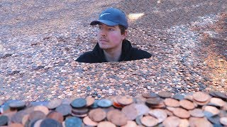 Video I Put Millions Of Pennies In My Friends Backyard MP3, 3GP, MP4, WEBM, AVI, FLV Juni 2019