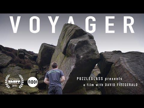 David Fitzgerald on 'Voyager' (8B+)