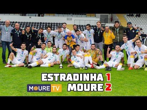Estradinha 1-2 Moure - Final da Taça da FADA 17/18 - Moure TV (видео)