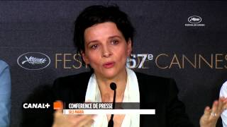 Cannes 2014 : CLOUDS OF SILS MARIA - The best of the press conference