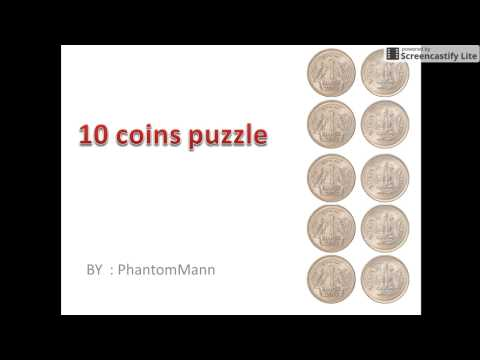 Interview puzzles with answers|10 coins puzzle